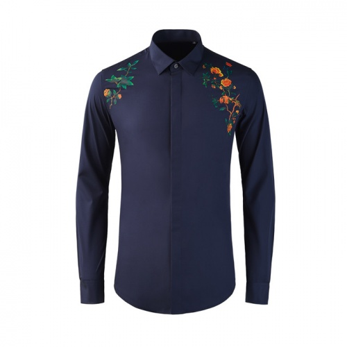 Dolce & Gabbana D&G Shirts Long Sleeved Polo For Men #809017