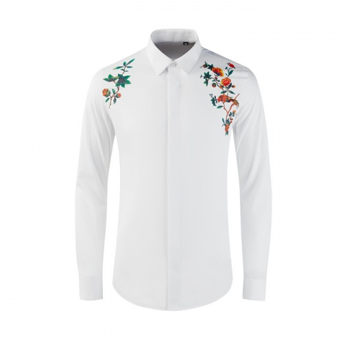 Dolce & Gabbana D&G Shirts Long Sleeved Polo For Men #809018