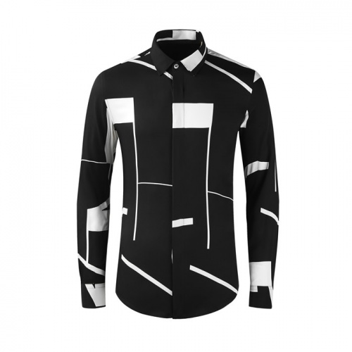 Givenchy Shirts Long Sleeved Polo For Men #809031