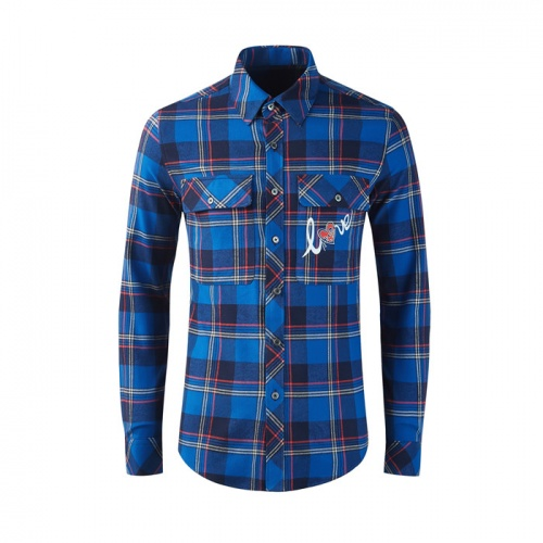Burberry Shirts Long Sleeved Polo For Men #809033