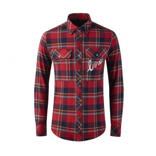 Burberry Shirts Long Sleeved Polo For Men #809034