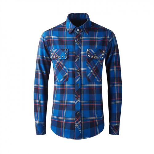 Burberry Shirts Long Sleeved Polo For Men #809037