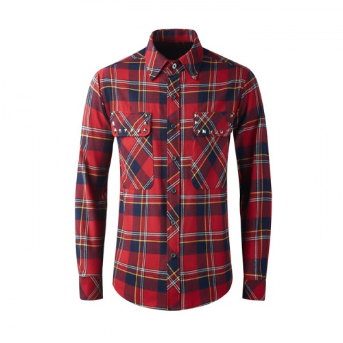 Burberry Shirts Long Sleeved Polo For Men #809038