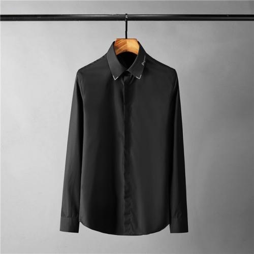 Armani Shirts Long Sleeved Polo For Men #809045