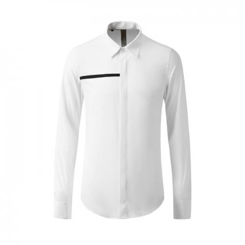 Armani Shirts Long Sleeved Polo For Men #809050