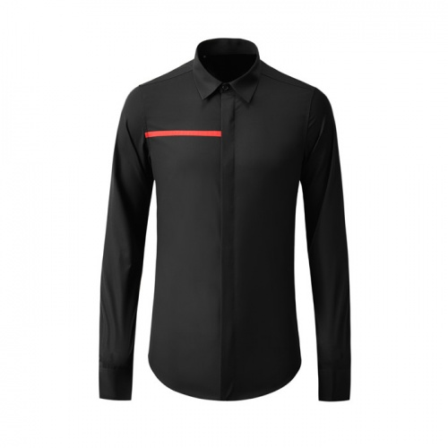 Armani Shirts Long Sleeved Polo For Men #809051