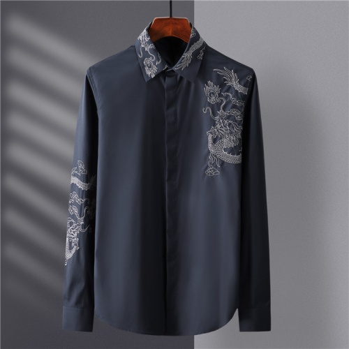 Dolce & Gabbana D&G Shirts Long Sleeved Polo For Men #809055