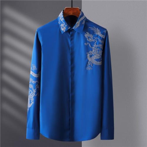 Dolce & Gabbana D&G Shirts Long Sleeved Polo For Men #809056