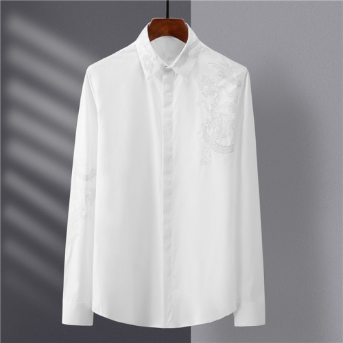 Dolce & Gabbana D&G Shirts Long Sleeved Polo For Men #809057