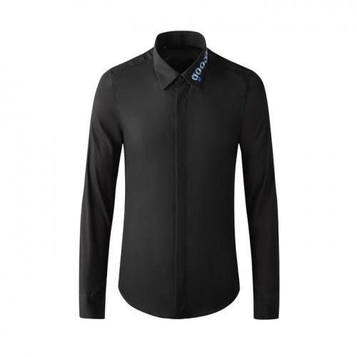 Dolce & Gabbana D&G Shirts Long Sleeved Polo For Men #809059