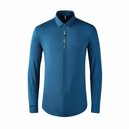 Armani Shirts Long Sleeved Polo For Men #809070