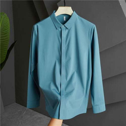 Armani Shirts Long Sleeved Polo For Men #809073