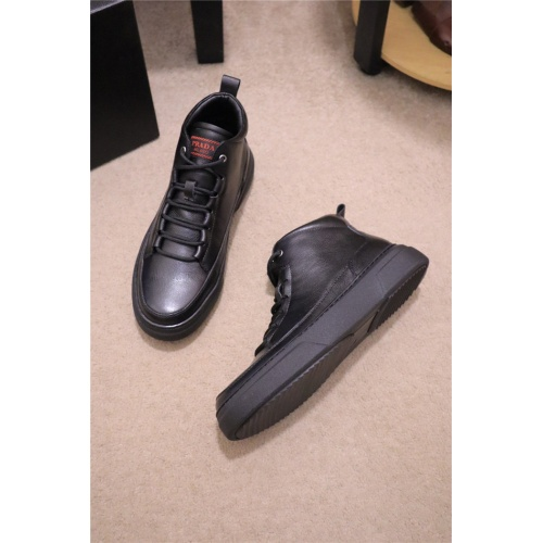 Prada High Tops Shoes For Men #809087