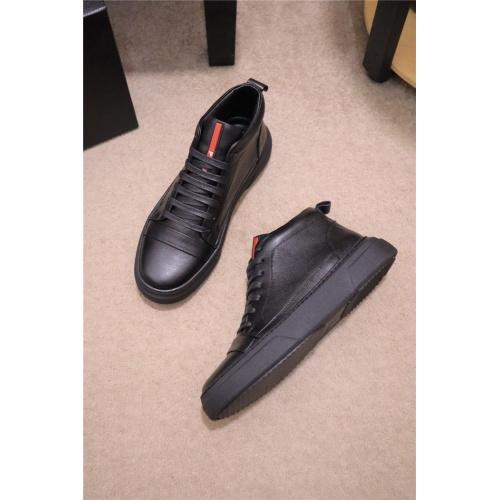 Prada High Tops Shoes For Men #809088
