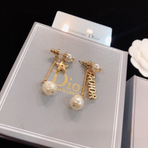 Christian Dior Earrings #809198 $32.00 USD, Wholesale Replica Christian Dior Earrings