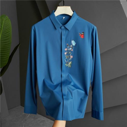 Dolce & Gabbana D&G Shirts Long Sleeved Polo For Men #809251