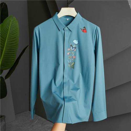Dolce & Gabbana D&G Shirts Long Sleeved Polo For Men #809252