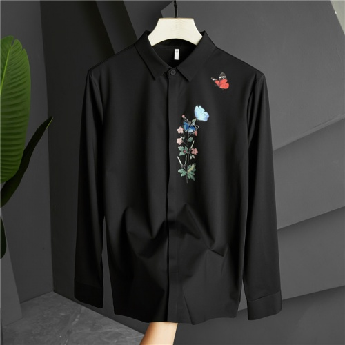 Dolce & Gabbana D&G Shirts Long Sleeved Polo For Men #809253