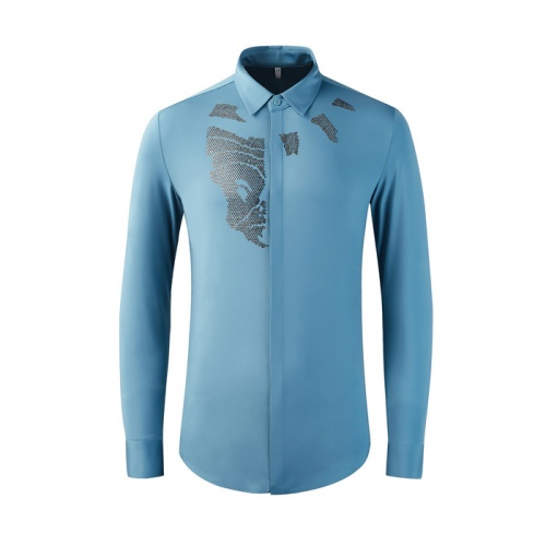 Dolce & Gabbana D&G Shirts Long Sleeved Polo For Men #809256