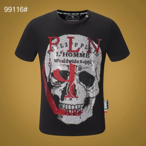 Philipp Plein PP T-Shirts Short Sleeved O-Neck For Men #809272 $27.00 USD, Wholesale Replica Philipp Plein PP T-Shirts