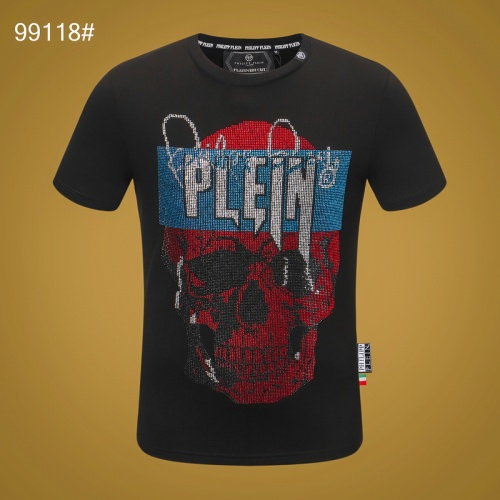 Philipp Plein PP T-Shirts Short Sleeved O-Neck For Men #809273