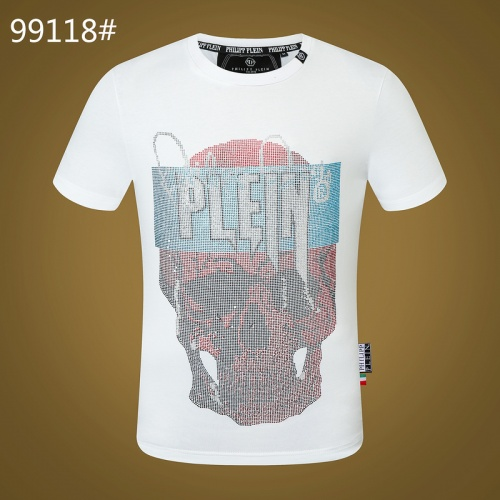 Philipp Plein PP T-Shirts Short Sleeved O-Neck For Men #809274