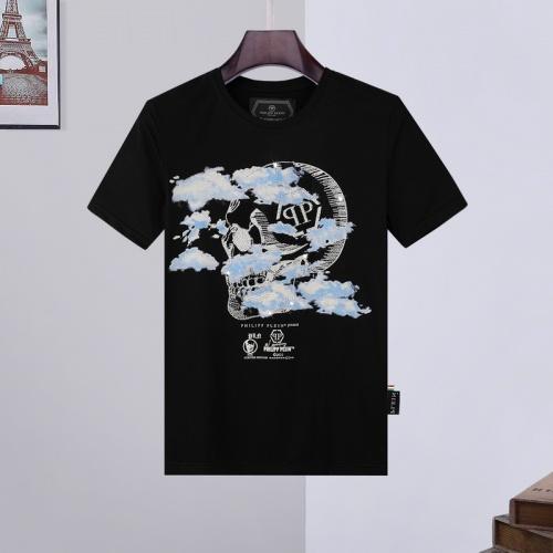 Philipp Plein PP T-Shirts Short Sleeved O-Neck For Men #809281