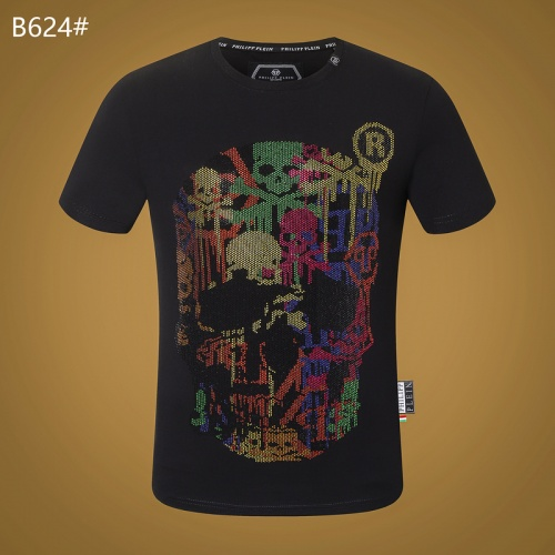 Philipp Plein PP T-Shirts Short Sleeved O-Neck For Men #809288