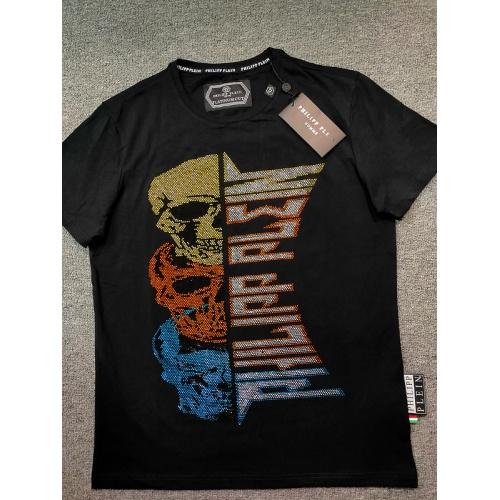 Philipp Plein PP T-Shirts Short Sleeved O-Neck For Men #809290
