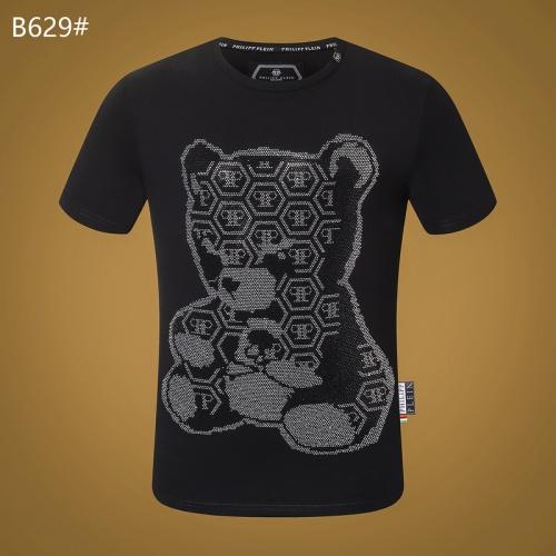 Philipp Plein PP T-Shirts Short Sleeved O-Neck For Men #809292