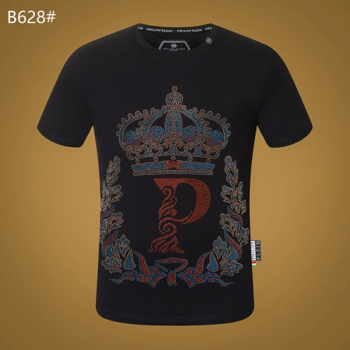 Philipp Plein PP T-Shirts Short Sleeved O-Neck For Men #809295