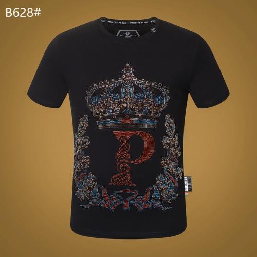 Philipp Plein PP T-Shirts Short Sleeved O-Neck For Men #809295