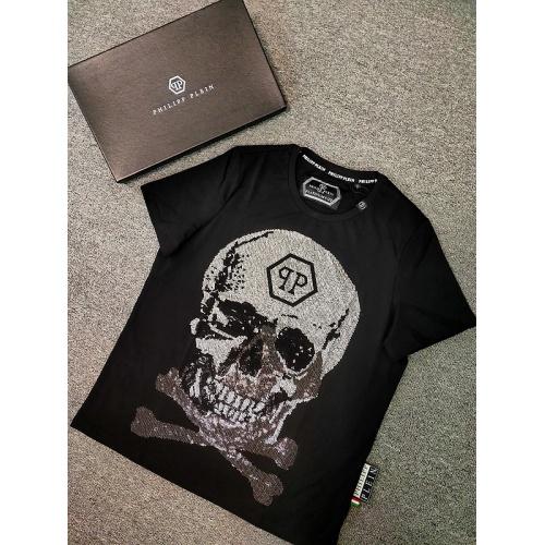 Philipp Plein PP T-Shirts Short Sleeved O-Neck For Men #809298