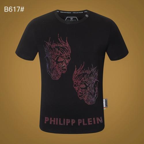 Philipp Plein PP T-Shirts Short Sleeved O-Neck For Men #809300