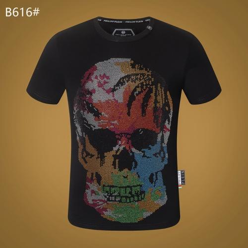 Philipp Plein PP T-Shirts Short Sleeved O-Neck For Men #809301