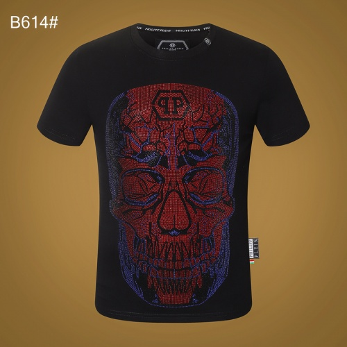 Philipp Plein PP T-Shirts Short Sleeved O-Neck For Men #809303