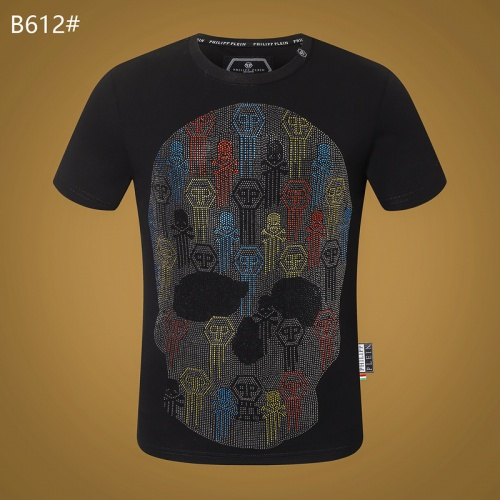 Philipp Plein PP T-Shirts Short Sleeved O-Neck For Men #809305