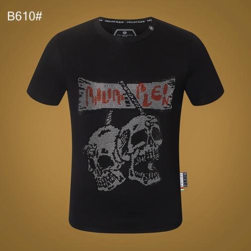Philipp Plein PP T-Shirts Short Sleeved O-Neck For Men #809307