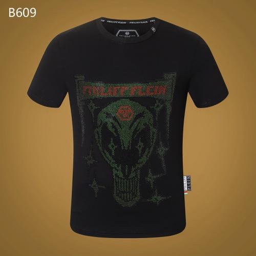 Philipp Plein PP T-Shirts Short Sleeved O-Neck For Men #809308