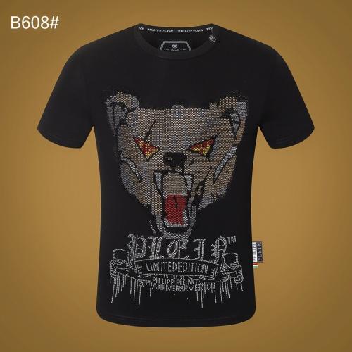 Philipp Plein PP T-Shirts Short Sleeved O-Neck For Men #809309