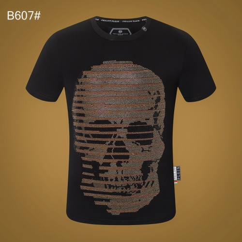 Philipp Plein PP T-Shirts Short Sleeved O-Neck For Men #809310