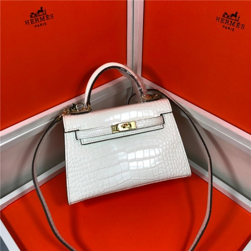 Replica Hermes AAA Quality Messenger Bags For Women #809406 $93.00 USD for Wholesale