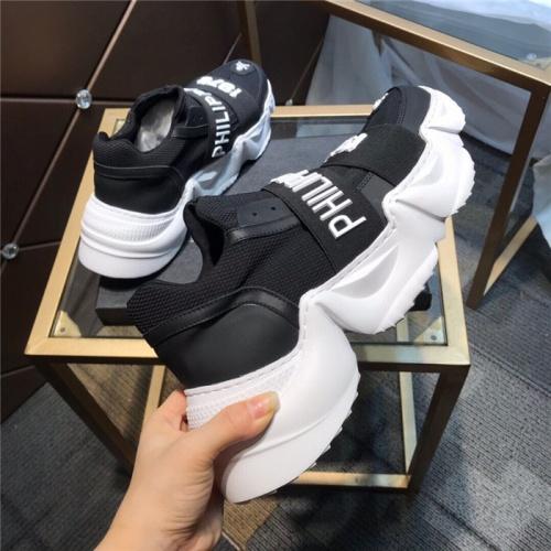 Replica Philipp Plein PP Casual Shoes For Men #809416 $98.00 USD for Wholesale