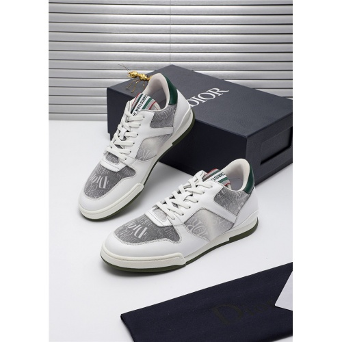 Christian Dior Casual Shoes For Men #809417 $100.00 USD, Wholesale Replica Christian Dior Casual Shoes