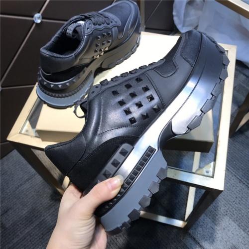 Replica Valentino Casual Shoes For Men #809435 $102.00 USD for Wholesale