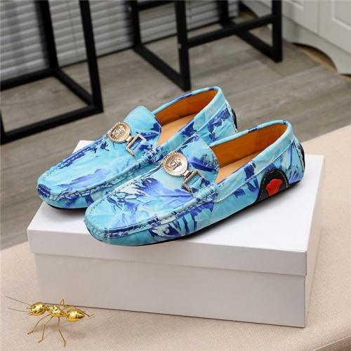 Versace Casual Shoes For Men #809473 $68.00 USD, Wholesale Replica Versace Casual Shoes