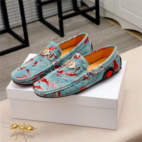 Versace Casual Shoes For Men #809474 $68.00 USD, Wholesale Replica Versace Casual Shoes