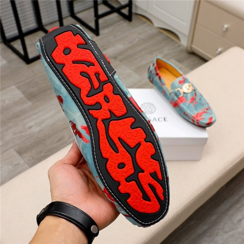 Replica Versace Casual Shoes For Men #809474 $68.00 USD for Wholesale