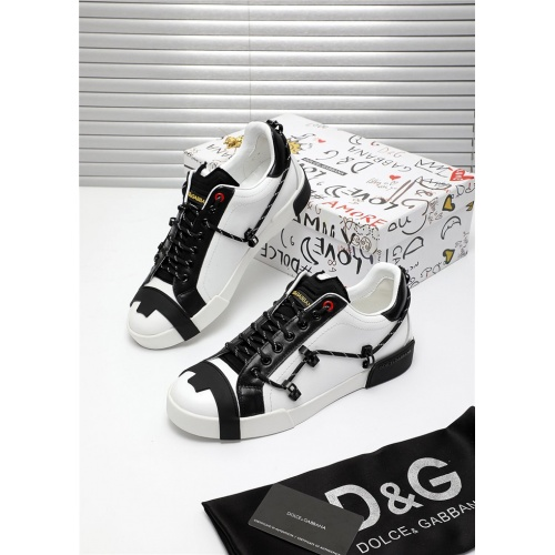 Dolce & Gabbana D&G Casual Shoes For Men #809482