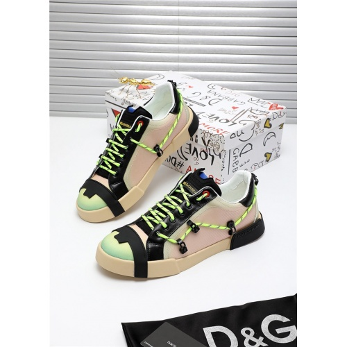 Dolce & Gabbana D&G Casual Shoes For Men #809483